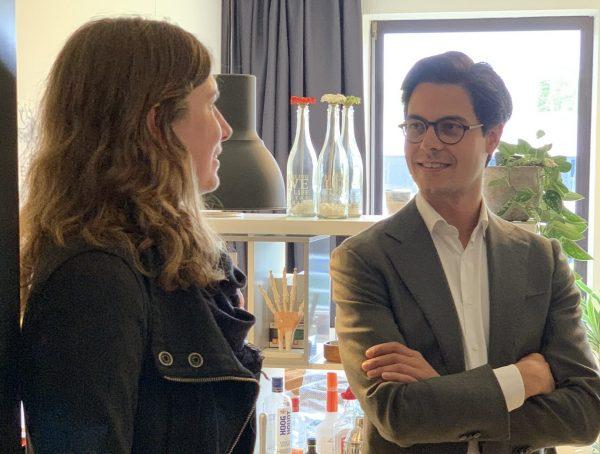 Landelijke fractie D66 bezoekt ons sociaal project Lichtpenweg Amersfoort