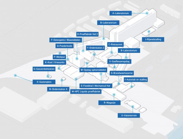 Gapph wint de aanbesteding tijdelijke exploitatie Unilever R&D terrein in Vlaardingen