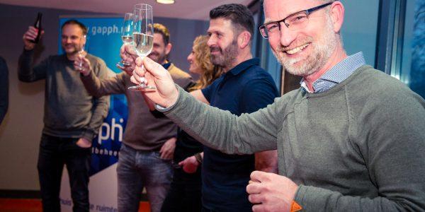 Ondernemers IJsselstein proosten op een mooi 2020!